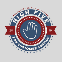 High Five - Customer Service Voting Banner 2019 Square