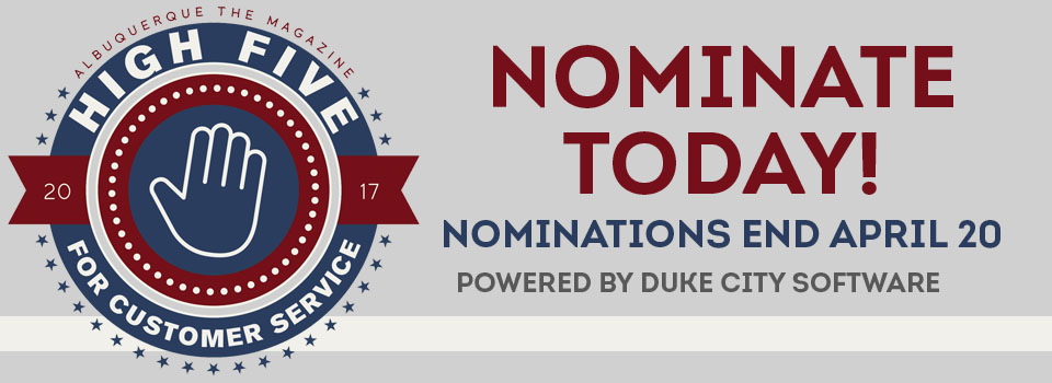 Thanks for Your Nomination!